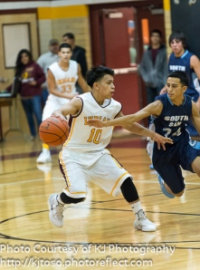 Senior guard George Rodriguez helped Harlandale score 103 points against Southside.