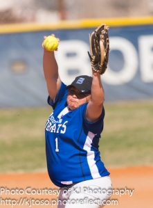 South San senior pitcher Nikki Velasquez has been one of the Bobcats' leaders in her fourth varsity season.