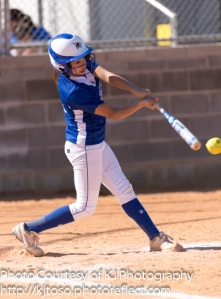 Alyssa Montes connects for South San.
