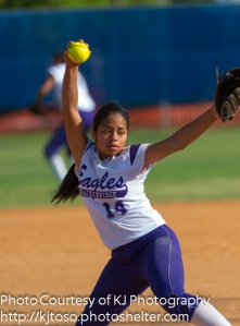 Junior Alexis Berlanga pitched both games against Boerne Champion for Brackenridge.