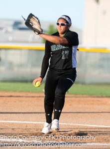 Southwest pitcher Caitlin Terrazas limited East Central to three hits and retired eight of the last nine batters she faced.