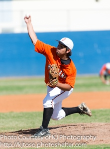 Tristan Settles was the winning pitcher in Burbank's victory over Lanier Thursday.