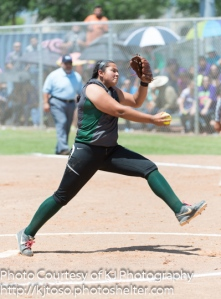 Southwest senior Kamerie Vidales will take her power bat and her pitching arm to Our Lady of the Lake.