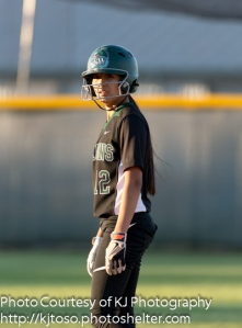 Dragons sophomore Megan Hernandez had been primarily a courtesy runner, but played a solid left field in the series and drove in the winning run in Game 2 with a suicide squeeze bunt.