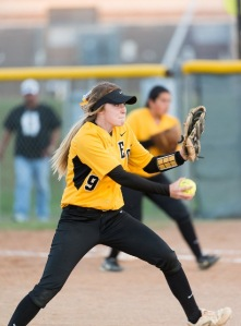 Taylor Doege of East Central was recruited by OLLU as both a pitcher and first baseman.