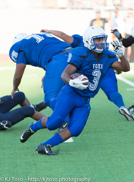 FOOTBALL: Lanier takes pep talk to heart for firstwin