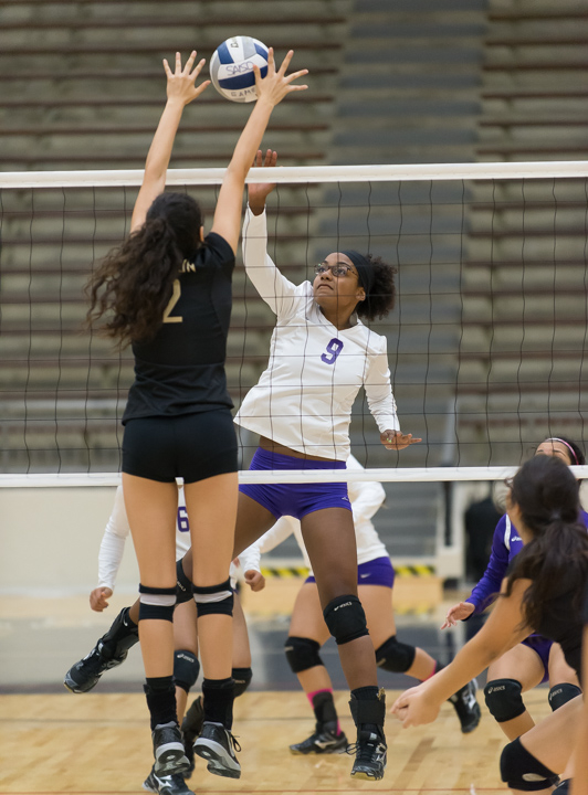Brackenridge's Eshe Malone hits in a previous match.